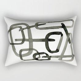 Ink Drawing India Ink Art Studio Rectangular Pillow