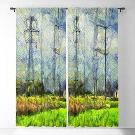 Vincent Van Uninspired Blackout Curtain
