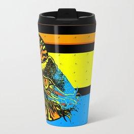 Grungy Nautilus Travel Mug