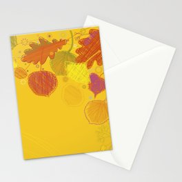 Autumn Doodles Stationery Cards