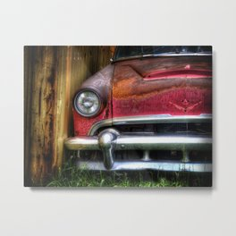 Rusted car 1 Metal Print