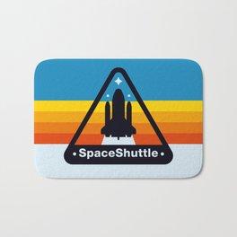 NASA Space Shuttle Badge Bath Mat