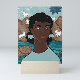 Capricorn by Amanda Laurel Atkins Mini Art Print