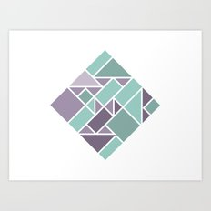 Shapes 006 Art Print