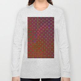 Manual Grid Fall Digital Long Sleeve T-shirt