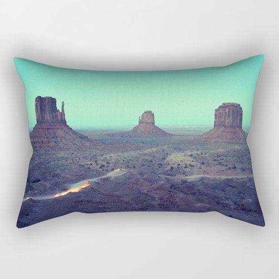 monument valley 5 Rectangular Pillow