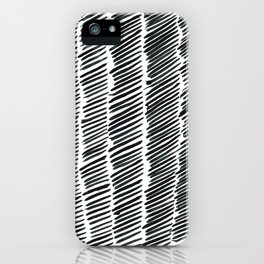 Just Lines iPhone Case