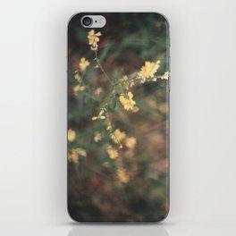 jaune iPhone Skin