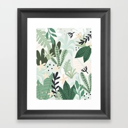 Into the jungle II Framed Art Print