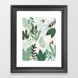 Into the jungle II Framed Art Print