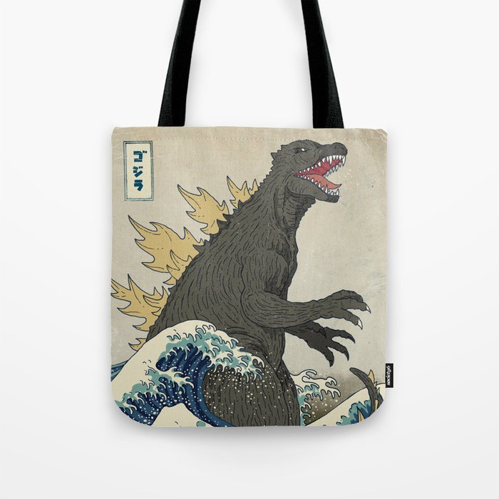 The Great Godzilla off Kanagawa Umhängetasche