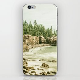 Acadia National Park Maine Rocky Beach iPhone Skin