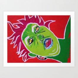 Zelf Portrait Art Print