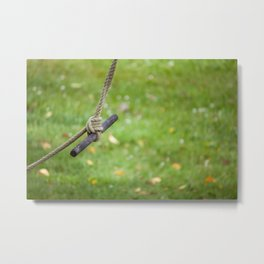 Stationary Swaying Metal Print