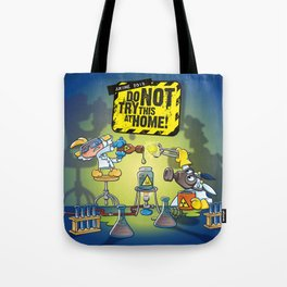 Anime 2015: Do Not Try This At Home! Tote Bag