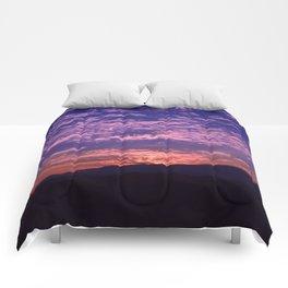 SW Mountain Sunrise - II Comforters