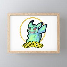 Bulbachu Framed Mini Art Print