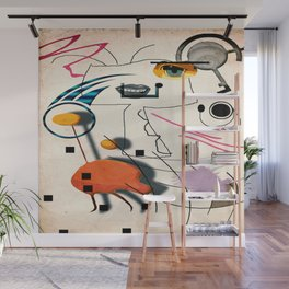 The Chicken Farmer Wall Mural