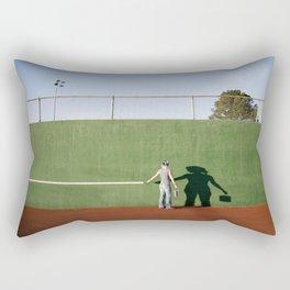 """""""Drawing the Line"""" Rectangular Pillow"""