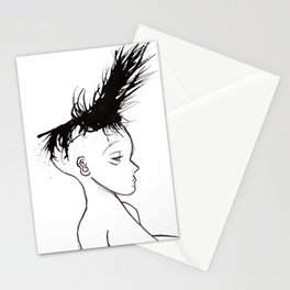 Hair 1 Stationery Cards
