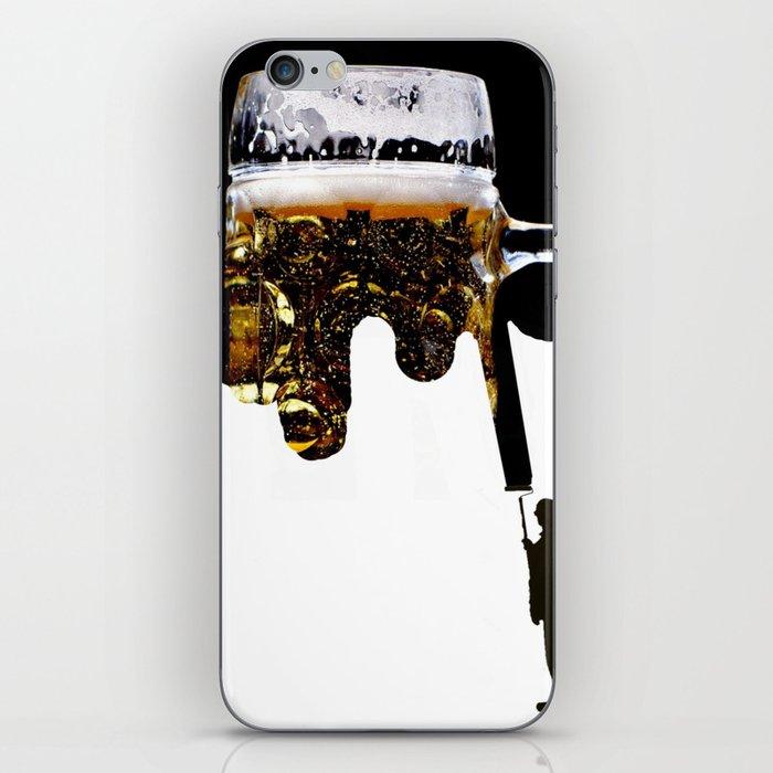 Paint of beer iPhone Skin