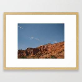 Caprock Canyons, Texas Framed Art Print