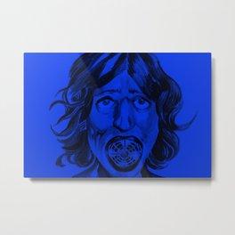 fangirl is a tad bit blue.... Metal Print