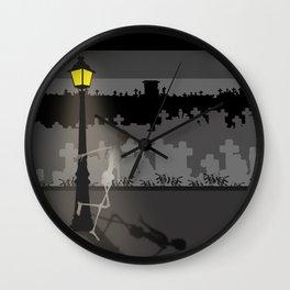 HaPPy CrEEpY HaLLoWeeN! Wall Clock