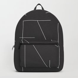 New Year Typo Black #society6 #decor #buyart Backpack