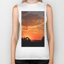 Idaho Sunset Biker Tank