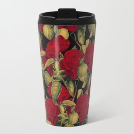 Vintage Red Roses II Travel Mug