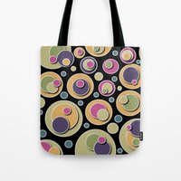 dots Tote Bags featuring Dots by Shelly Bremmer