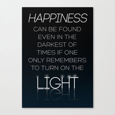 Harry Potter Albus Dumbledore Quote Canvas Print