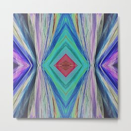 Abstract Colour Design 600 Metal Print