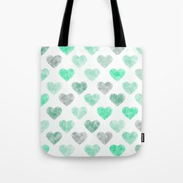 Cute Hearts X .3 Tote Bag