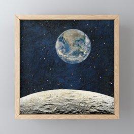 Earthrise Framed Mini Art Print