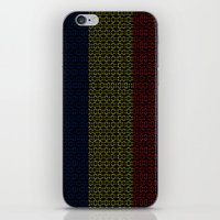 chad wys iPhone & iPod Skins featuring digital Flag (Chad) by seb mcnulty