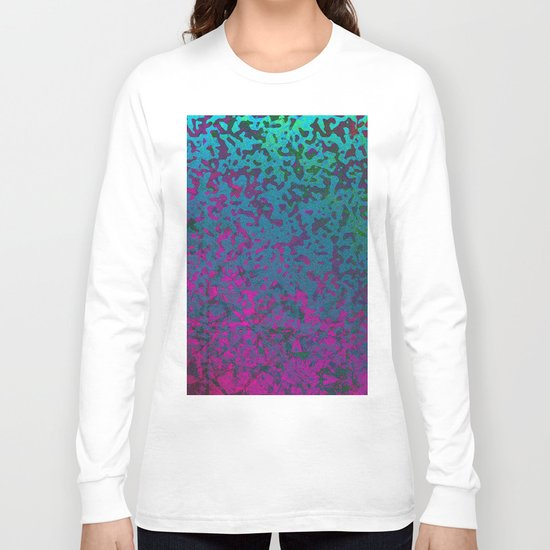 Colorful Corroded Background G296 Long Sleeve T-shirt