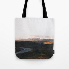 Tekapo Sunset Tote Bag