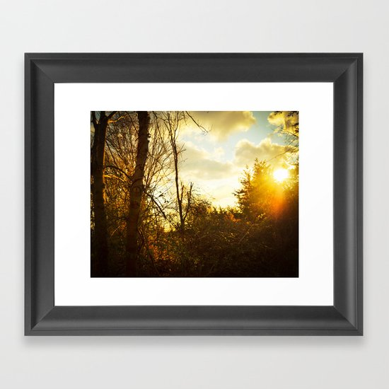 South By Southwest Framed Art Print