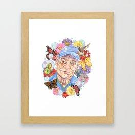 Poppa Framed Art Print