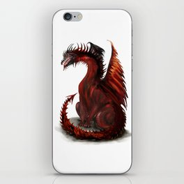 Challenger Lone Dragon Abstract iPhone Skin
