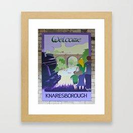 Vintage poster - Knaresborough Framed Art Print