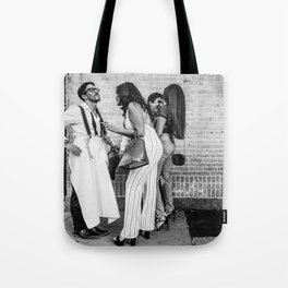 Elegant Conversations Tote Bag