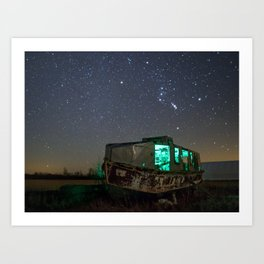 Chasing Orion Art Print