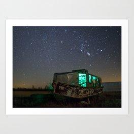 Chasing Orion Art Print