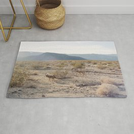 Panamint Valley Coyotes Rug
