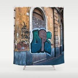 SICILIAN FACADE in CATANIA Shower Curtain