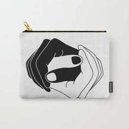 Yin and Yang Carry-All Pouch