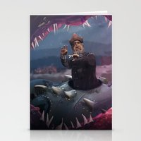 nemo Stationery Cards featuring Captain Nemo by Josmen9016